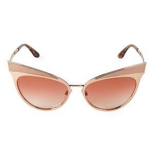 DOLCE & GABANNA metallic cat eye sunglasses ⚡️🔥